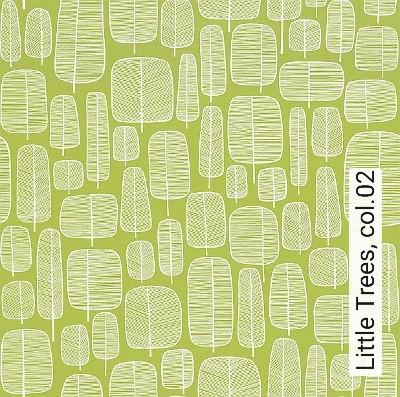 Bild: Tapeten - Little Trees, col.02