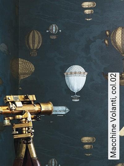 Bild: Tapeten - Macchine Volanti, col.02