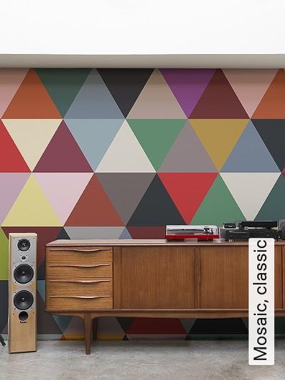 Bild: Tapeten - Mosaic, classic