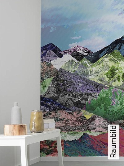 Bild: Tapeten - Mountain Top, Mural