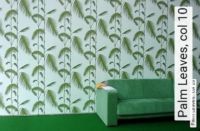 Bild: Tapeten - Palm Leaves, col 10
