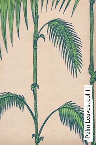 Bild: Tapeten - Palm Leaves, col 11