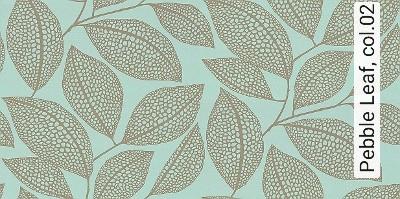Bild: Tapeten - Pebble Leaf, col.02
