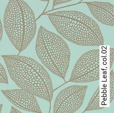 Bild: Tapeten - Pebble Leaf, col.02