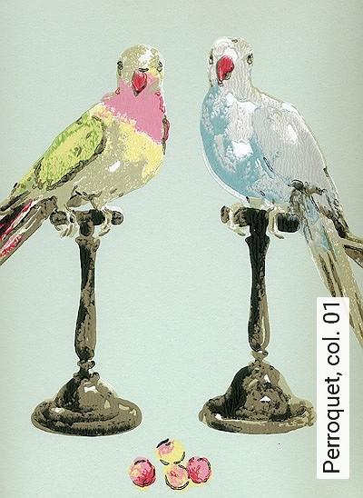 Bild: Tapeten - Perroquet, col. 01