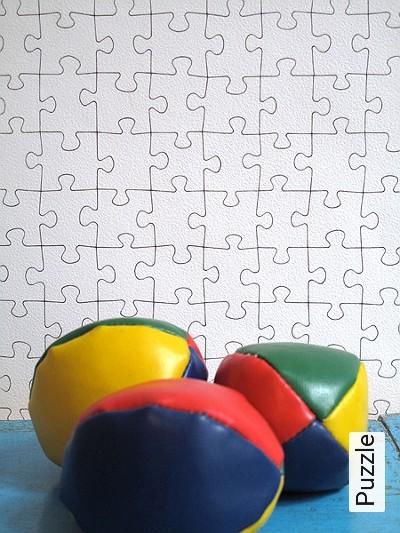 Bild: Tapeten - Puzzle