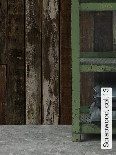 Bild: Tapeten - Scrapwood, col.13