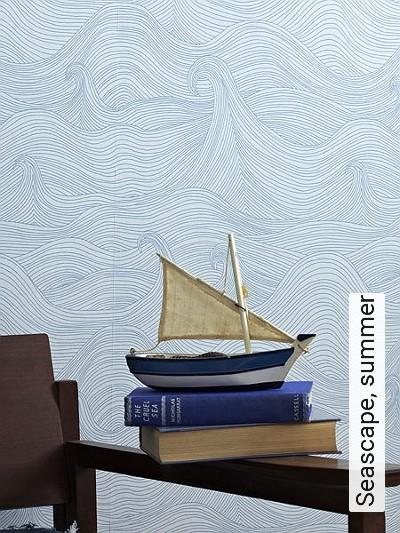 Bild: Tapeten - Seascape, summer