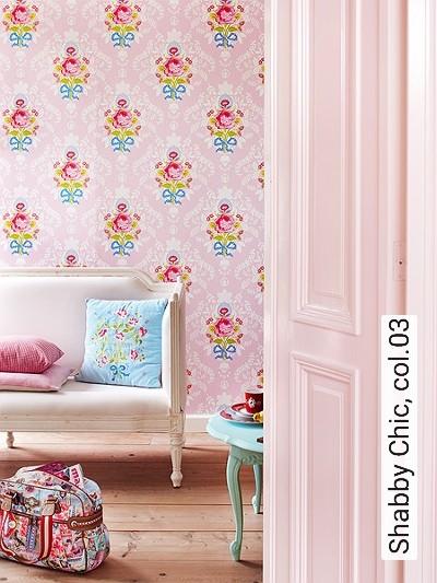 tapete shabby chic die tapetenagentur. Black Bedroom Furniture Sets. Home Design Ideas