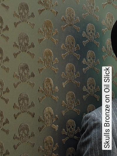 Bild: Tapeten - Skulls, col.08