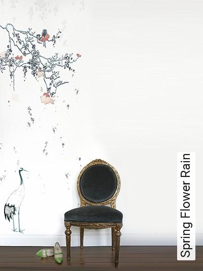 Bild: Tapeten - Spring Flower Rain