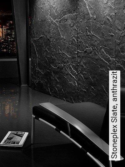 tapeten anthrazit die neuesten innenarchitekturideen. Black Bedroom Furniture Sets. Home Design Ideas