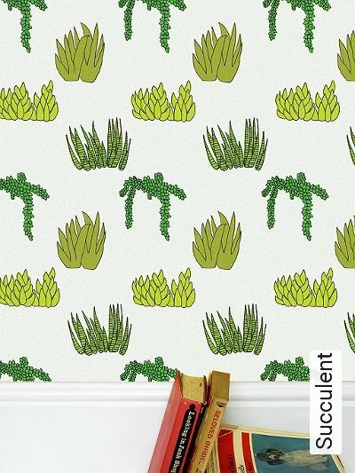 Bild: Tapeten - Succulent
