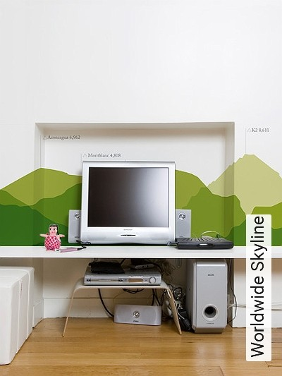 tapete worldwide skyline die tapetenagentur. Black Bedroom Furniture Sets. Home Design Ideas