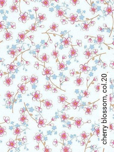 Bild: Tapeten - cherry blossom, col.20