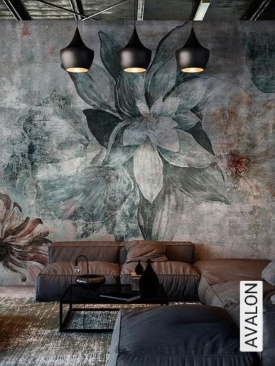 AVALON-Blumen-Florale-Muster-FotoTapeten-Multicolor