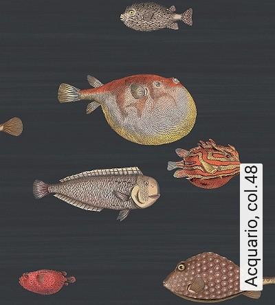 Acquario,-col.48-Tiere-Fische-Fauna-Moderne-Muster