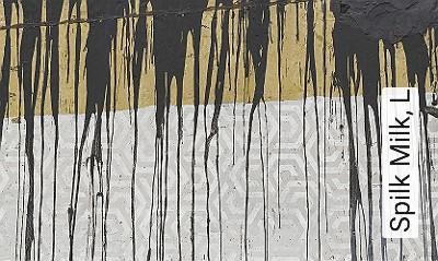 Spilk-Milk,-L-Moderne-Muster-FotoTapeten-Grau-Creme-Ocker