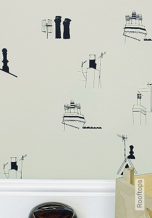 Bild Tapete - Rooftops
