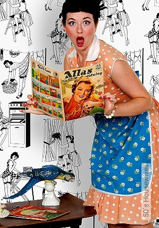 Bild Tapete - 50`s Housewives