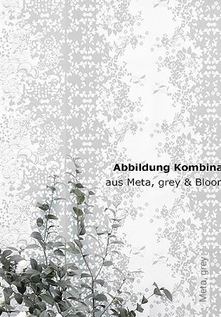 Bild Tapete - Meta, grey
