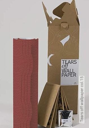 Bild Tapete - Tears off wallpaper col.15