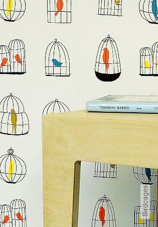 Bild Tapete - Birdcages