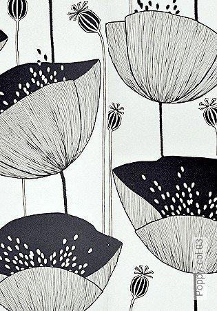 Bild Tapete - Poppy, col.03