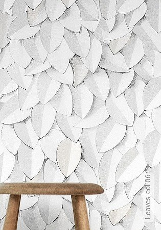 Bild Tapete - Leaves, col.06