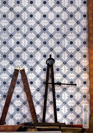 Bild Tapete - Celosia grey