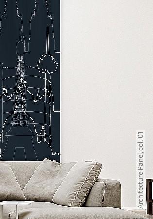 Bild Tapete - Architecture Panel, col. 01