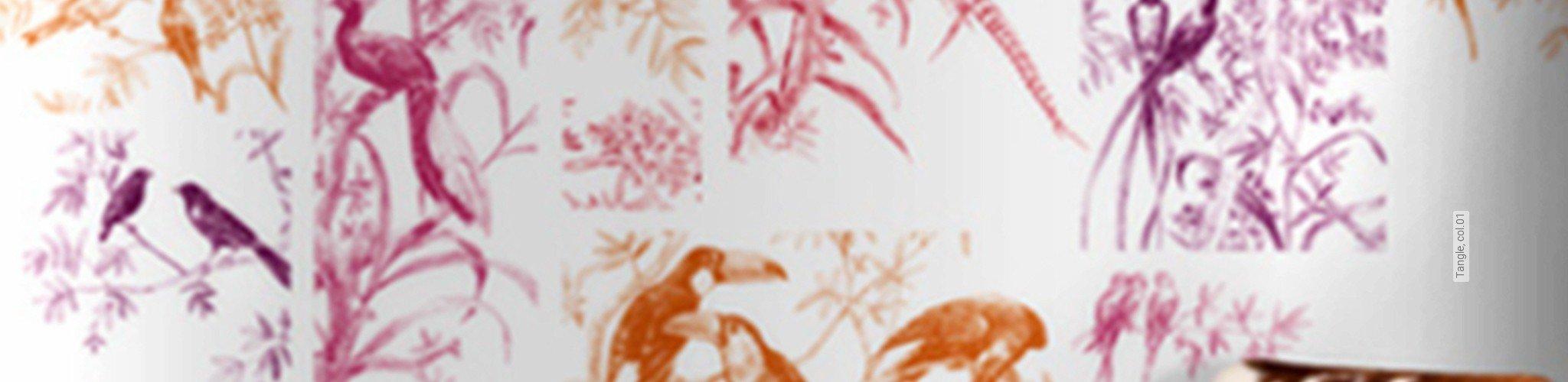 lila multicolor tapeten lust auf was neues. Black Bedroom Furniture Sets. Home Design Ideas
