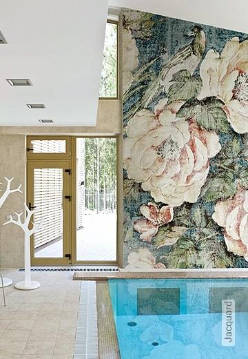 Badezimmer tapeten lust auf was neues - Tapete badezimmer geeignet ...
