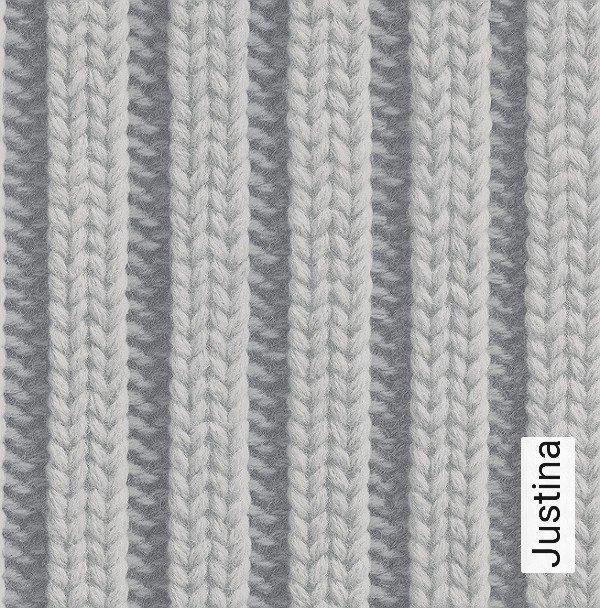 justina strick 3d tapeten moderne muster grau anthrazit - Tapete Muster Grau