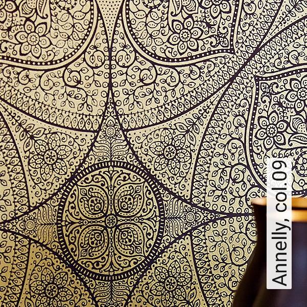 Vlies Tapete Orientalisches Wandteppich Muster 4