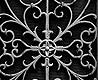 - Black Wrought Metal Gate