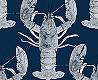 null - Lobster, dark blue