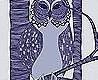 - The Owls, plum