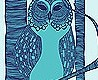 - The Owls, blue