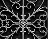 - Black Wrought Metal Gate