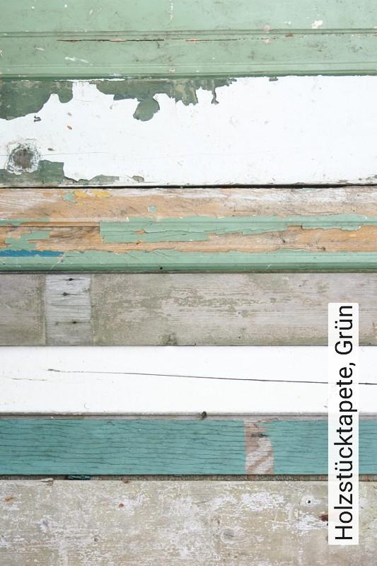 Tapete Holzstucktapete Grun Die Tapetenagentur