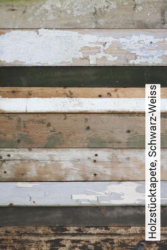 Tapete Holzstucktapete Schwarz Weiss Die Tapetenagentur