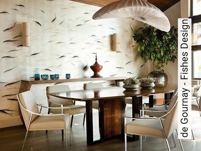 tapete de gournay fishes design die tapetenagentur. Black Bedroom Furniture Sets. Home Design Ideas