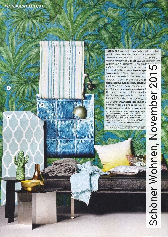 news sch ner wohnen november 2015 die tapetenagentur. Black Bedroom Furniture Sets. Home Design Ideas