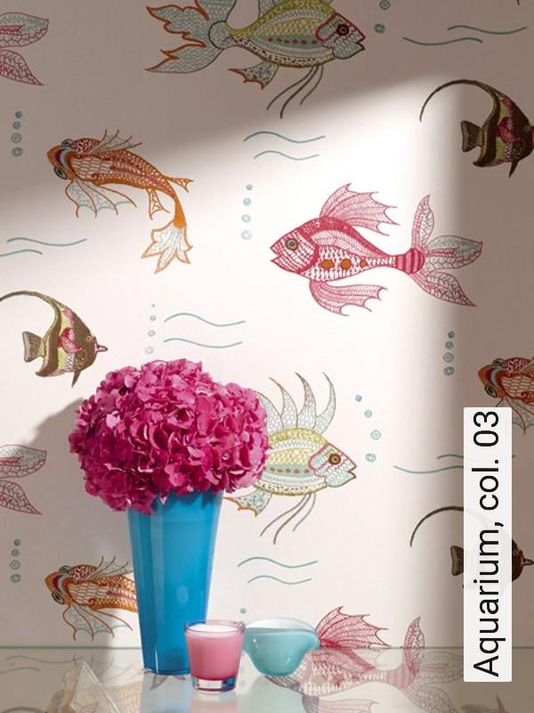 tapete aquarium col 03 die tapetenagentur. Black Bedroom Furniture Sets. Home Design Ideas