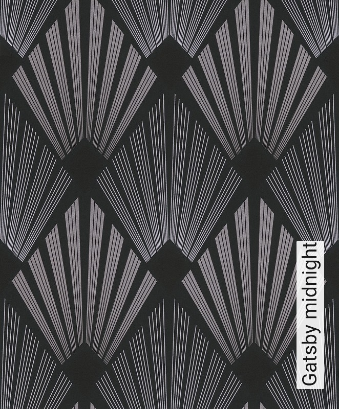 tapete gatsby midnight die tapetenagentur. Black Bedroom Furniture Sets. Home Design Ideas
