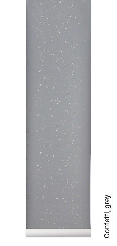 tapete confetti grey die tapetenagentur. Black Bedroom Furniture Sets. Home Design Ideas
