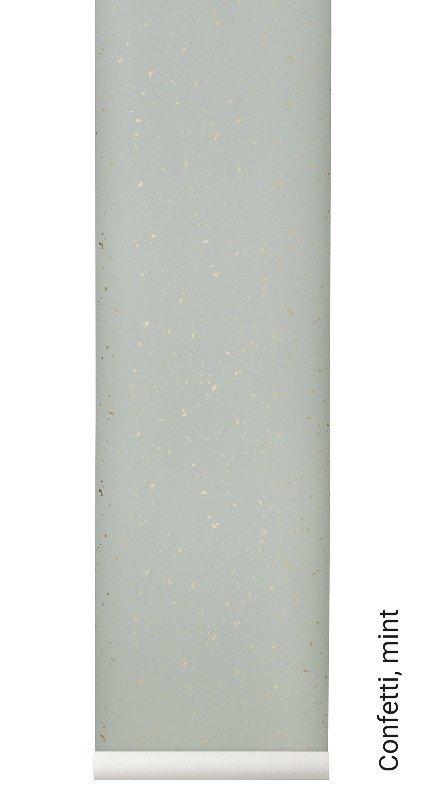 tapete confetti mint die tapetenagentur. Black Bedroom Furniture Sets. Home Design Ideas