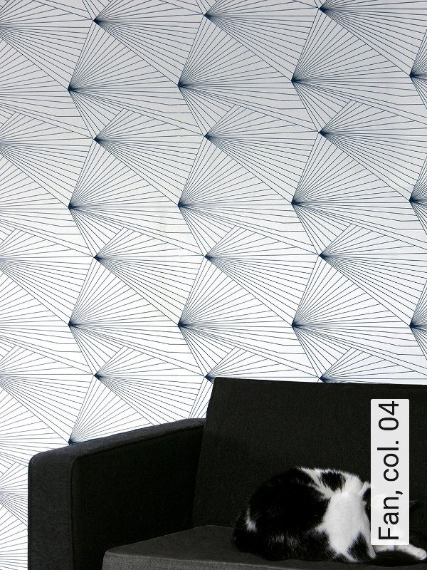 tapete fan col 04 die tapetenagentur. Black Bedroom Furniture Sets. Home Design Ideas