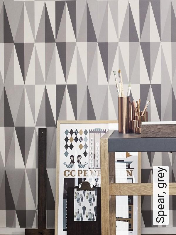 tapete spear grey die tapetenagentur. Black Bedroom Furniture Sets. Home Design Ideas